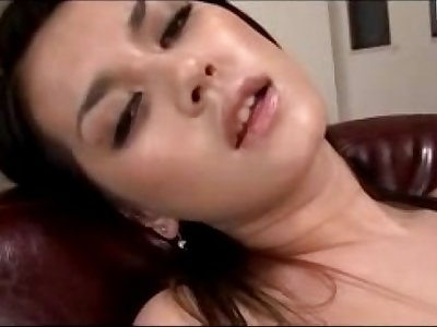 Hot Girl Having Orgasm While Masturbating With Toys In The Armchair