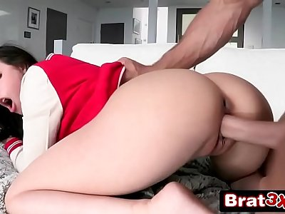 Skinny College Teen Loves Anal - Casey Calvert